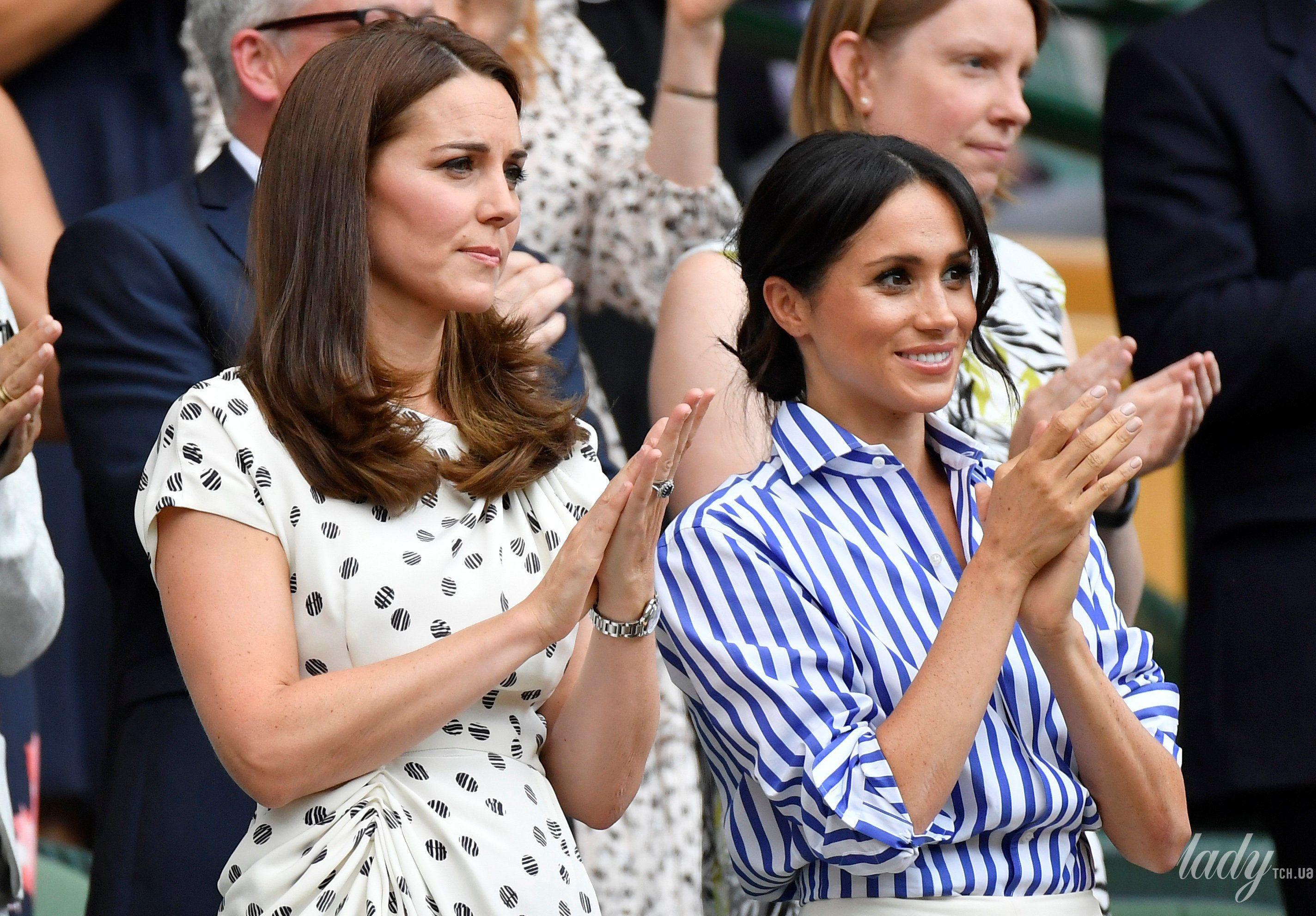 Герцогиня Кембриджская и герцогиня Сассекская_9