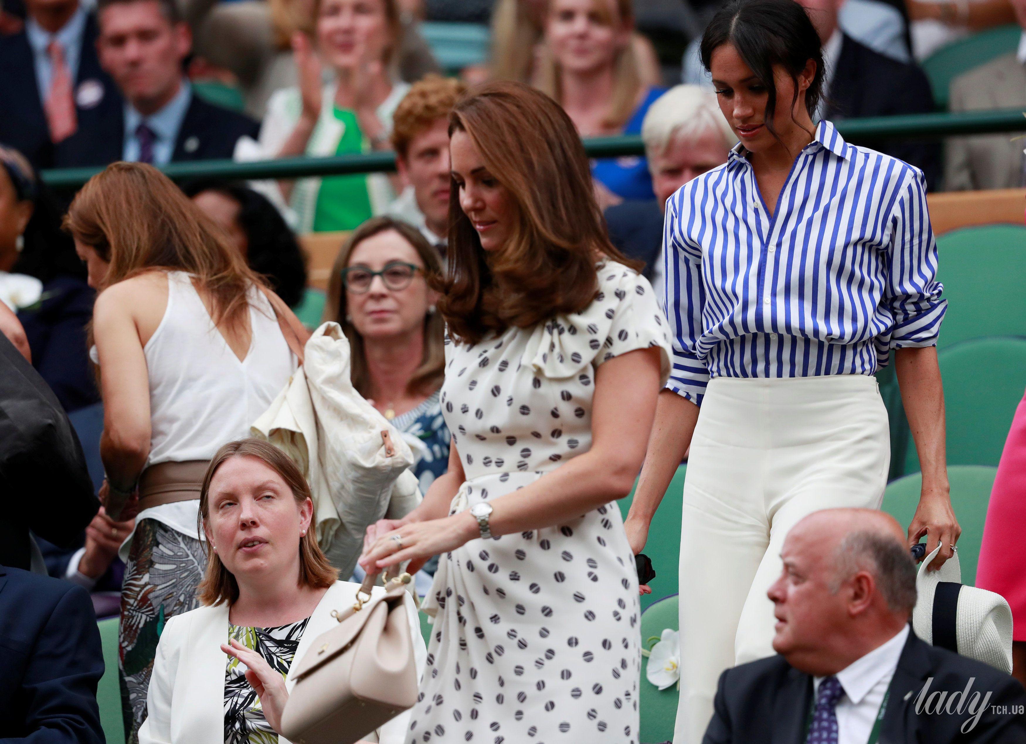 Герцогиня Кембриджская и герцогиня Сассекская_6