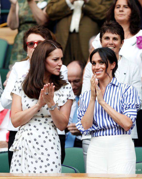 Герцогиня Кембриджская и герцогиня Сассекская_13
