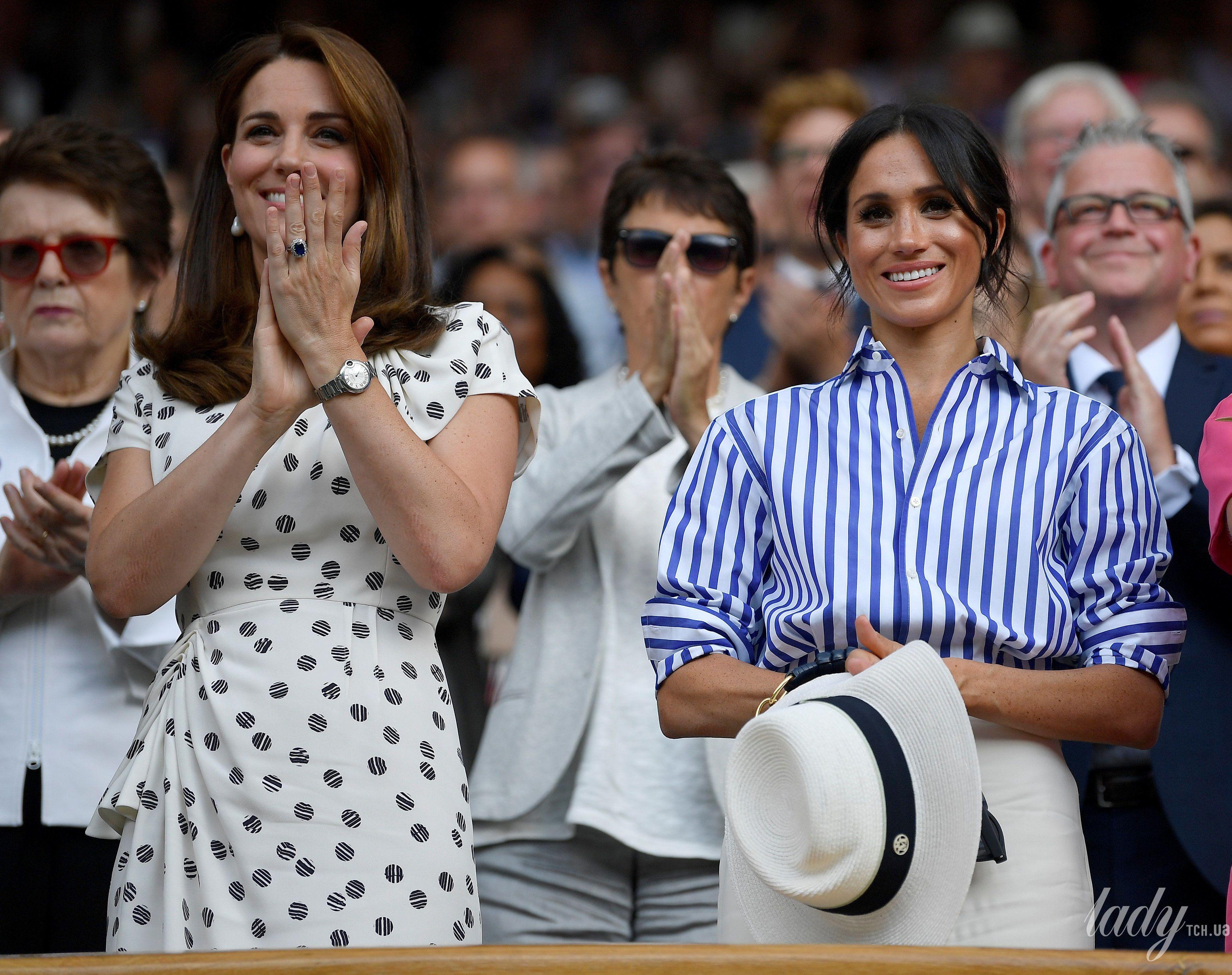 Герцогиня Кембриджская и герцогиня Сассекская_14