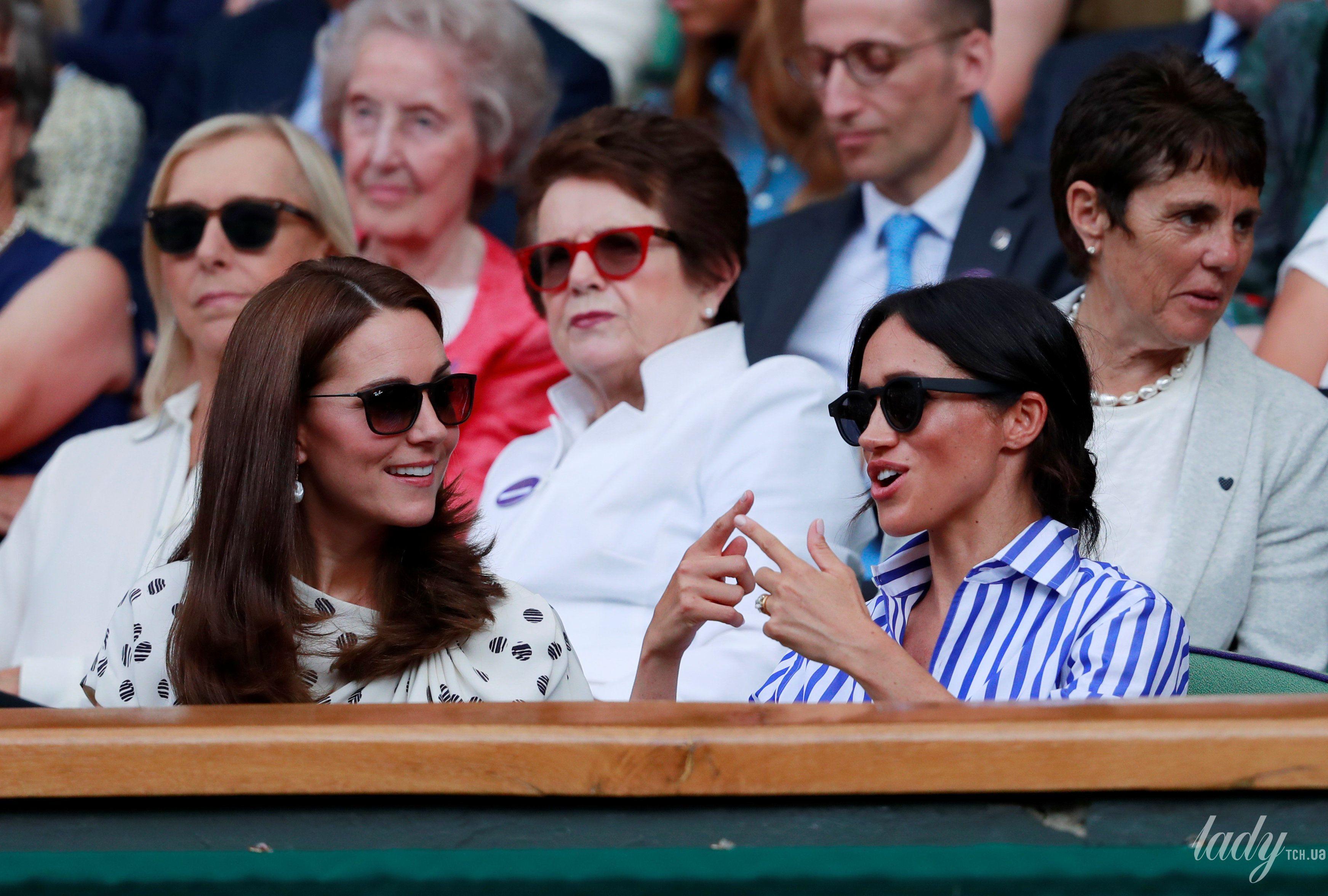 Герцогиня Кембриджская и герцогиня Сассекская_12