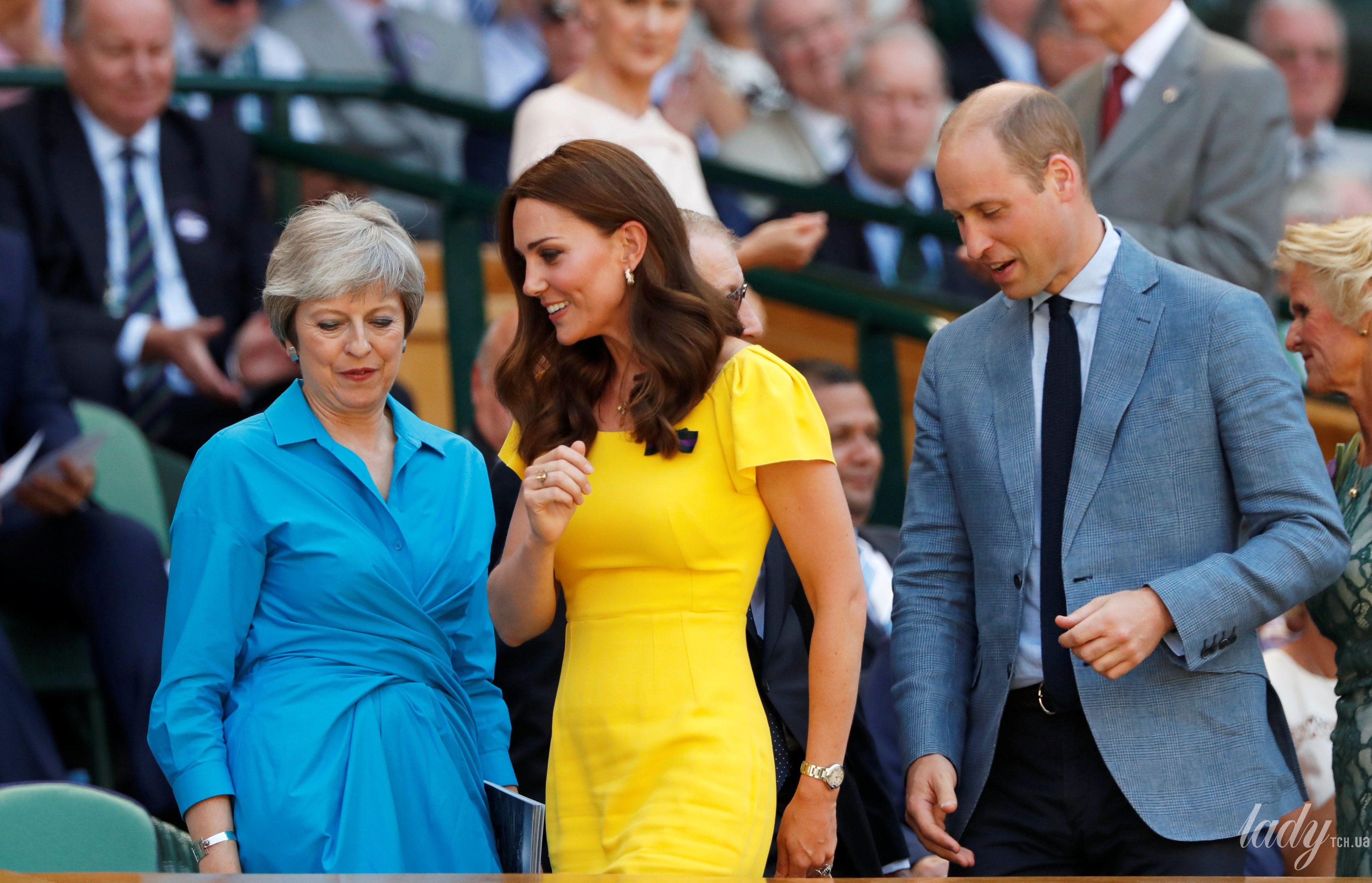 Герцогиня Кембриджская и принц Уильям_4