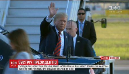 Трамп заявив, що не очікує радикальних рішень під час зустрічі з Путіним