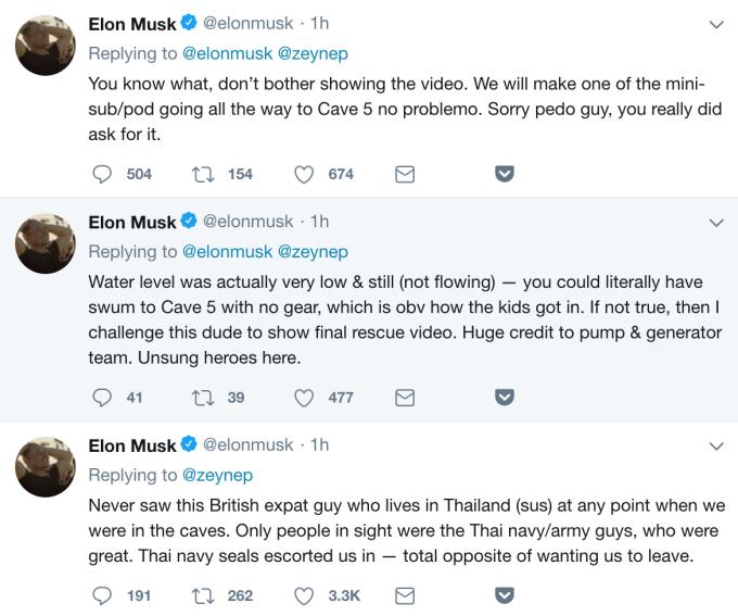 Ілон Маск назвав педофілом дайвера