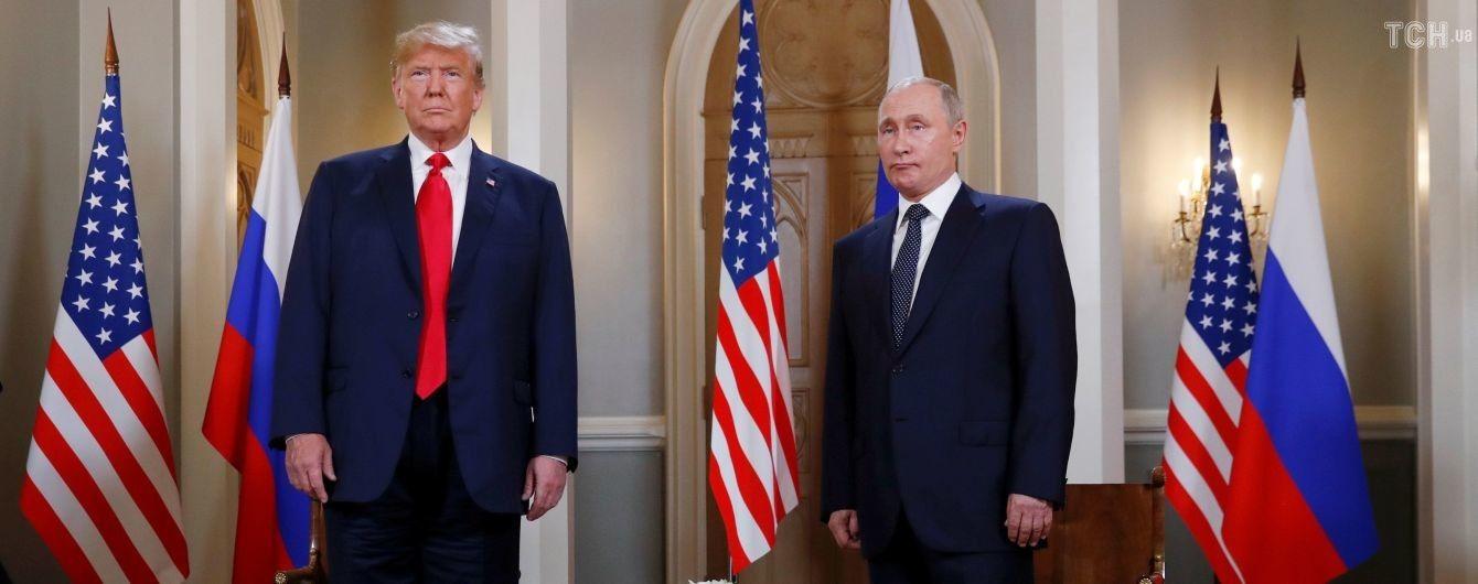 В Хельсинки началась встреча Трампа с Путиным. Фото