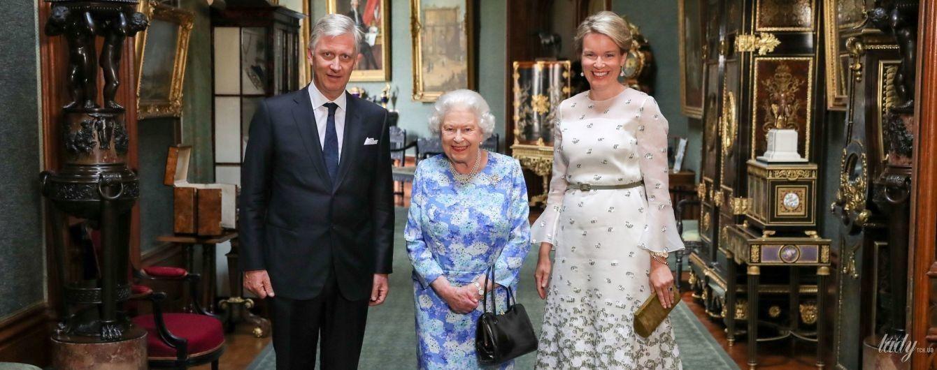 Трампы vs бельгийские монархи: битва фотографий с королевой Елизаветой II