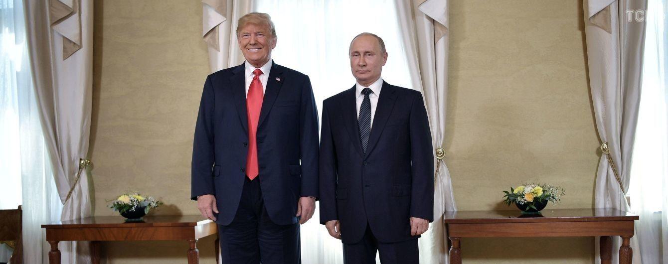 В Хельсинки завершился разговор с глазу на глаз Путина и Трампа