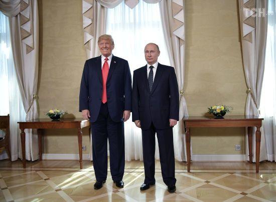 Путін та Трамп домовились про зустріч у Парижі в листопаді