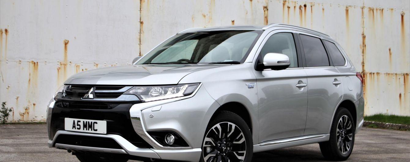 Mitsubishi Outlander PHEV числится в рекордсменах продаж среди гибридов