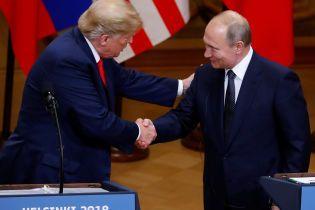 """""""Один из лучших"""". Трамп в Хельсинки похвалил Путина за Чемпионат мира"""