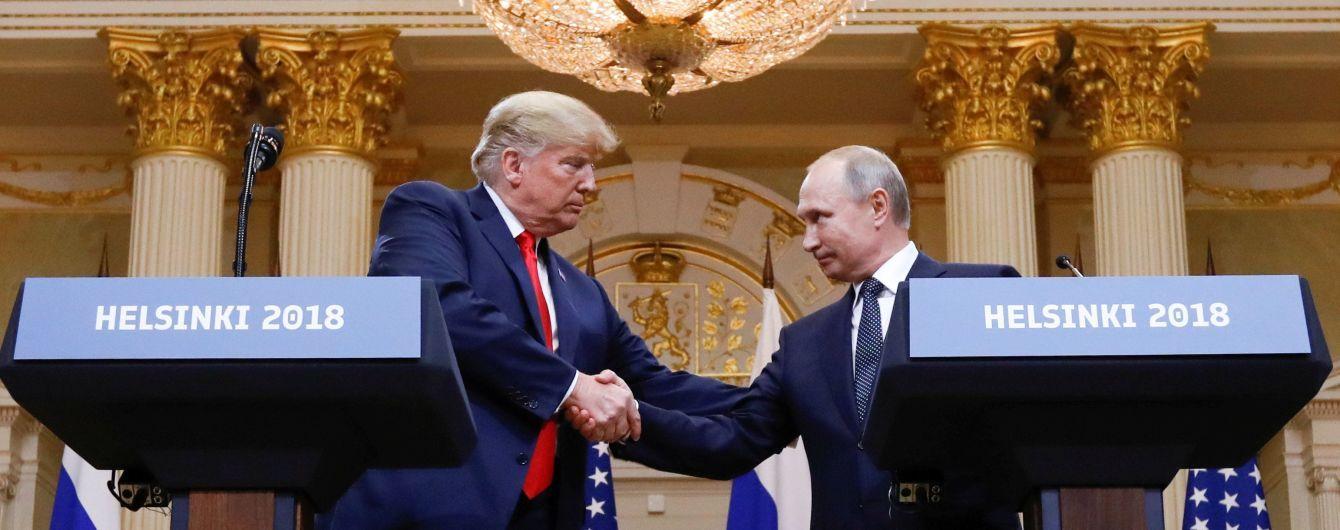 Крым, Сирия и транзит газа через Украину. О чем Трамп и Путин разговаривали в Хельсинки