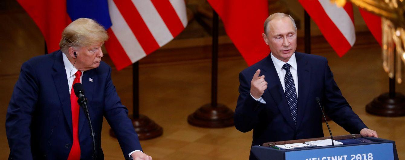 Послушный кот Трамп и Путин-вампир: как карикатуристы изобразили саммит двух лидеров