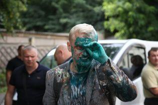 Шабунін після нападу із зеленкою поїхав до лікарні