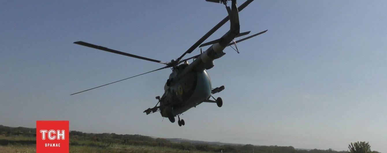 В районі ООС провели навчання на випадок збиття українського літака диверсантами