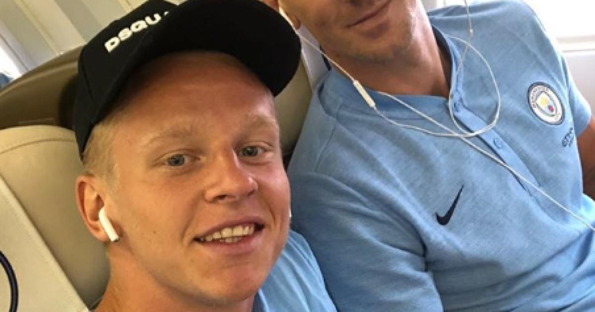 """Зинченко полетел с """"Манчестер Сити"""" в турне по Штатам"""