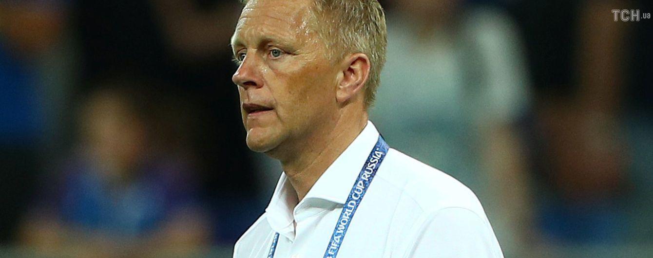 Головний тренер збірної Ісландії залишив свій пост