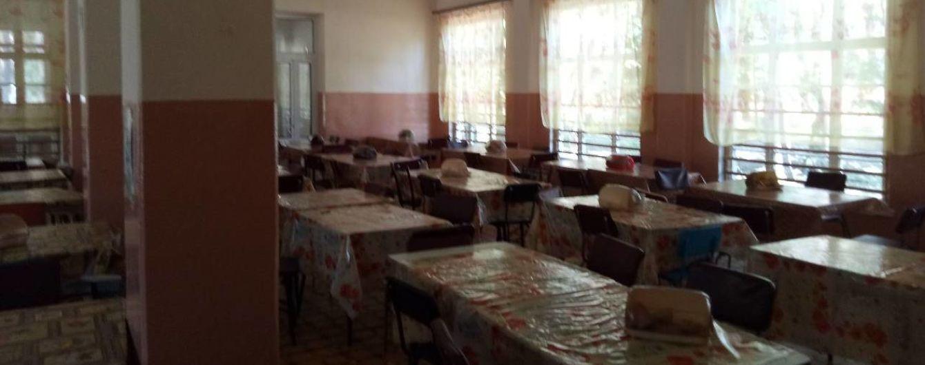На Донеччині у таборі масово отруїлися діти