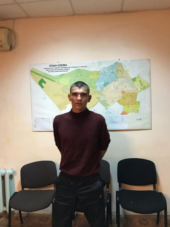 Втікач із колонії в Одесі