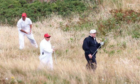 Трамп запросив пограти у гольф сенатора-республіканця після його візиту в РФ