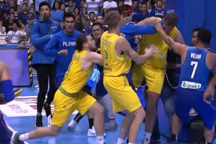 13 баскетболистов, затеявших массовое побоище, наказали дисквалификациями
