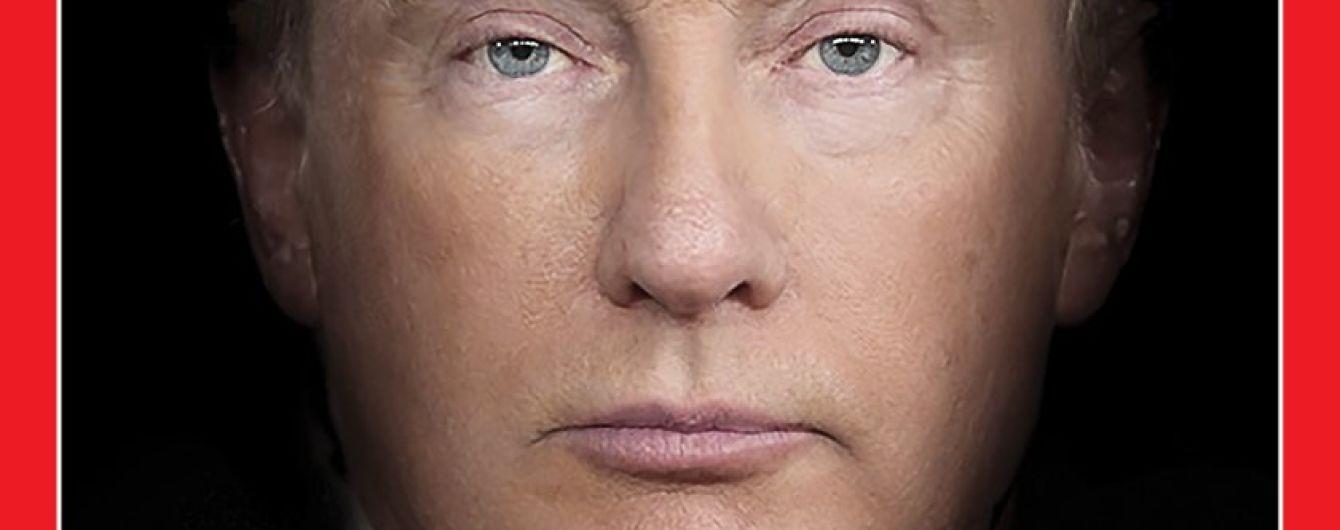 """Time""""схрестив"""" Трампа і Путіна на обкладинці журналу"""