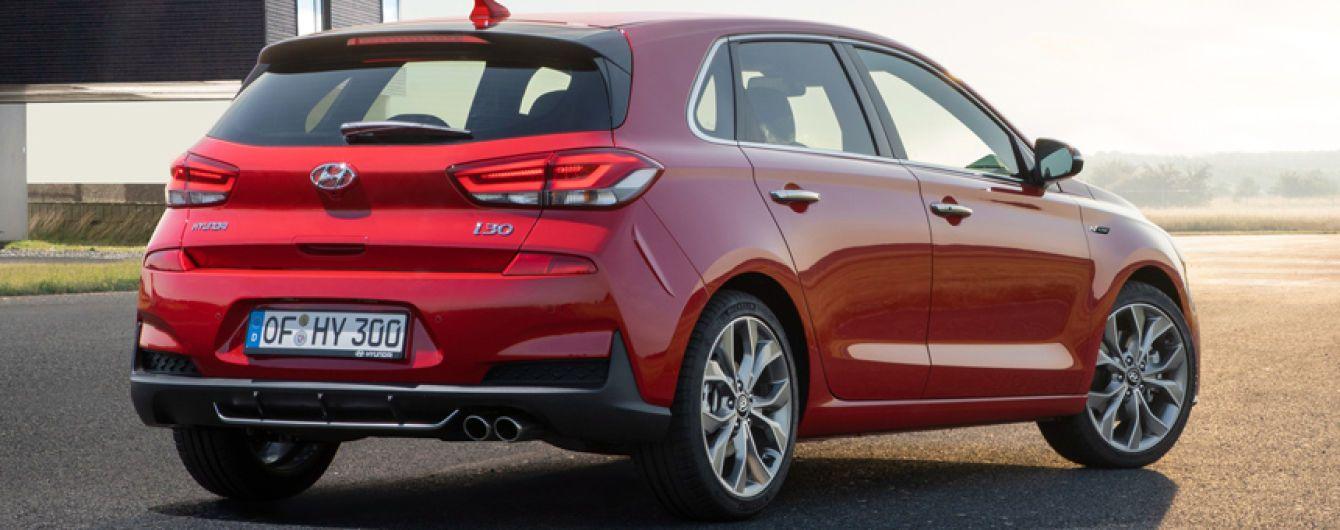 Хетчбек Hyundai стилізували під спортивну модель