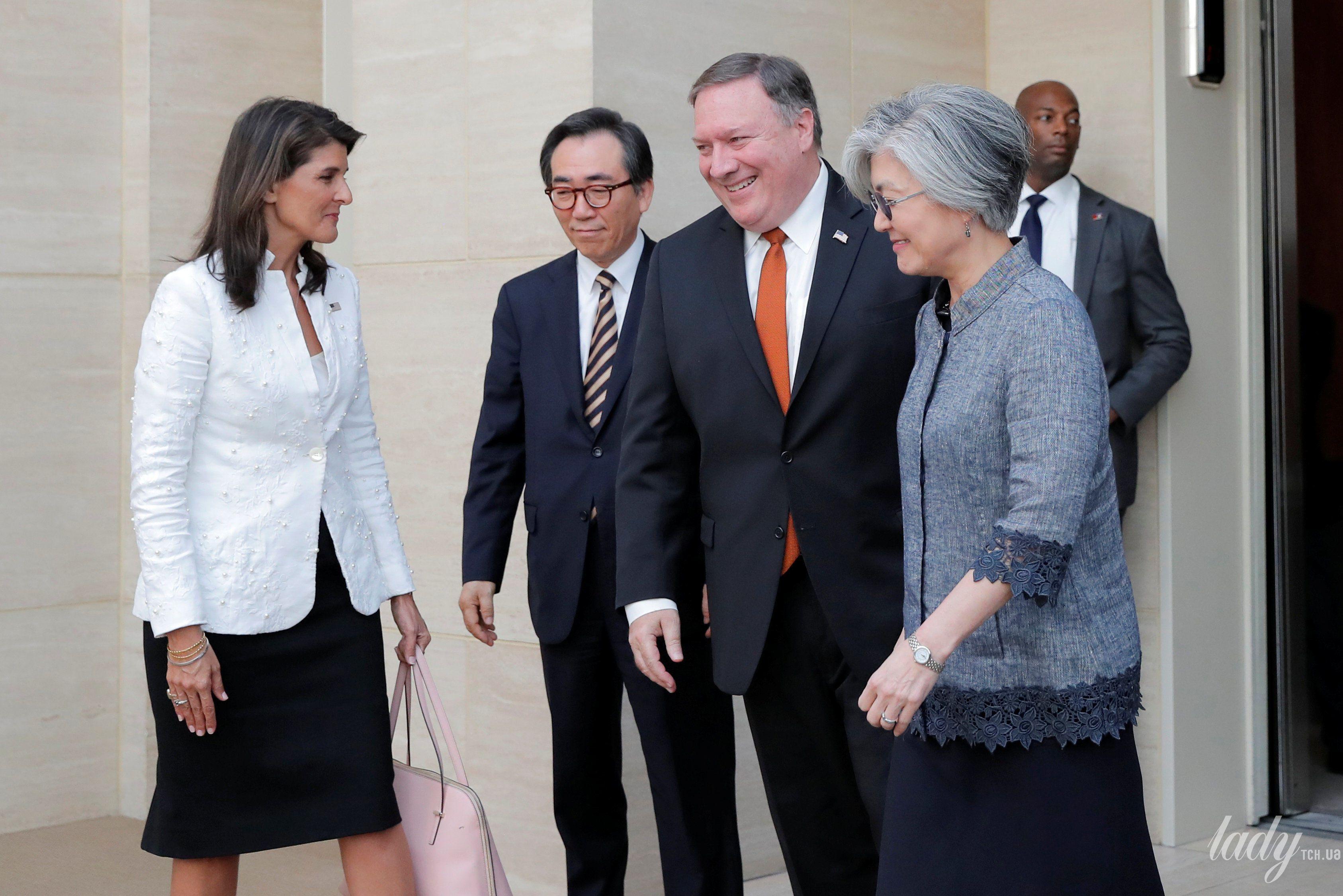 Министр иностранных дел Республики Корея Кан Гён Хва_3