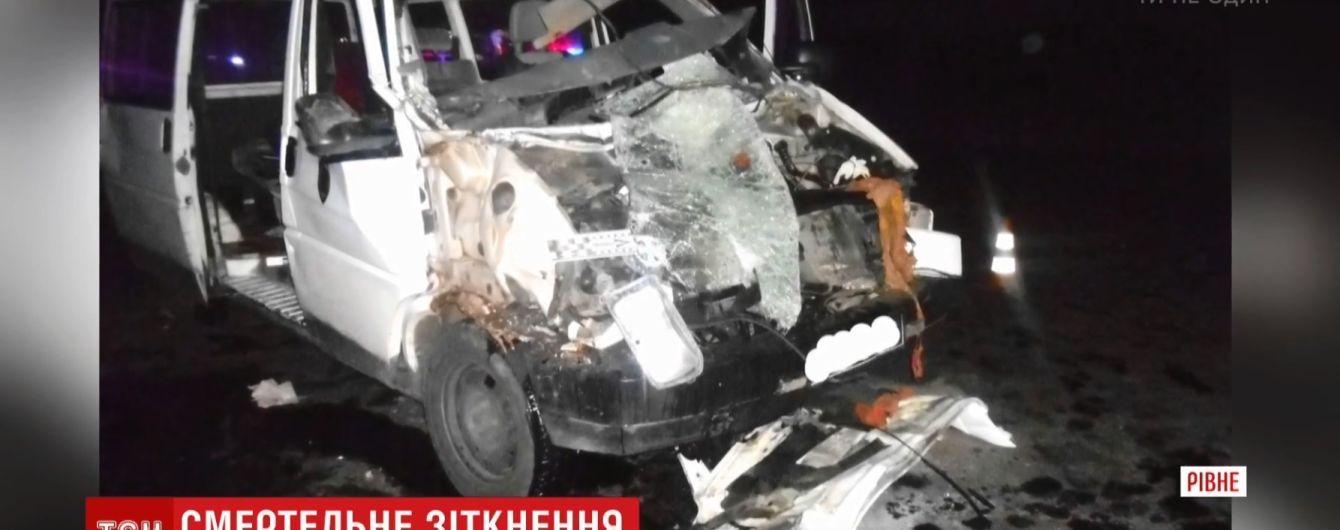 Нова смертельна ДТП із фурою і маршруткою: цього разу загинув військовий-доброволець