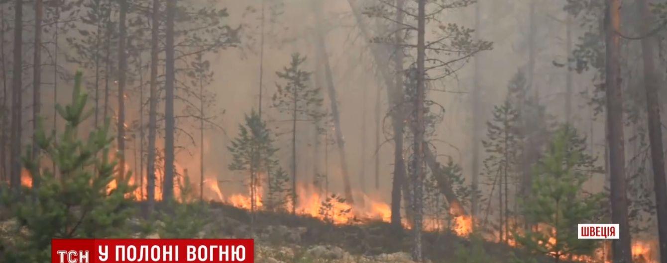 В Швеции горят леса от полярного круга до Балтики