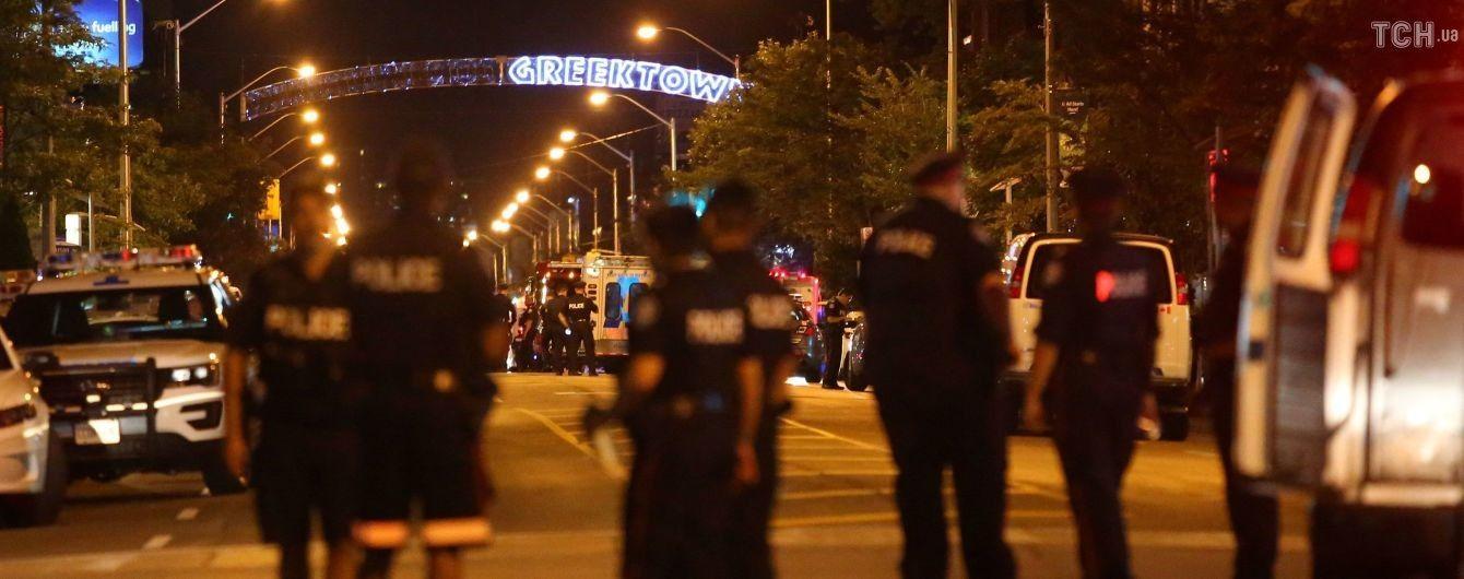 У Торонто невідомий вчинив масову стрілянину: є загиблі
