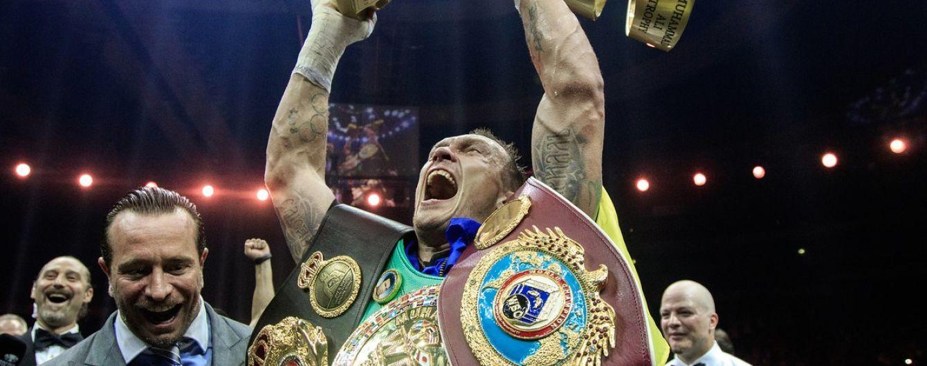 Усика признали лучшим по версии IBF, теперь он возглавляет все рейтинги боксерских организаций