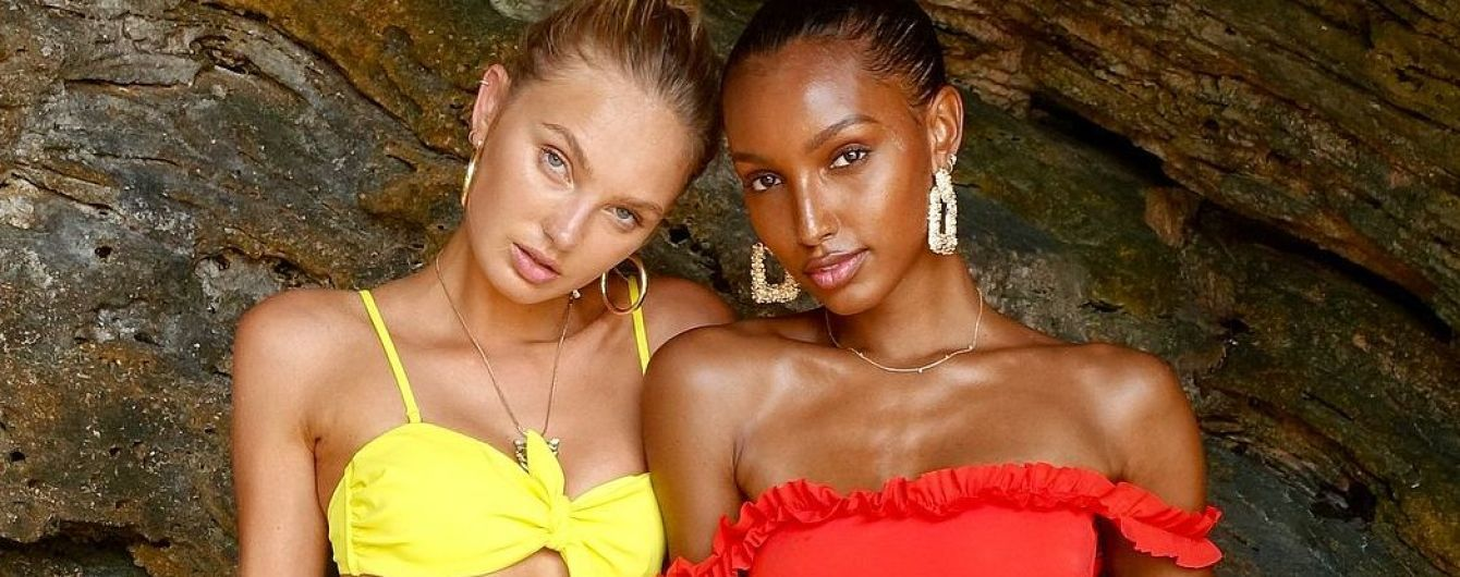 """Красуні на відпочинку: """"ангели"""" Жасмін Тукс і Ромі Стридж в сексуальних бікіні позували на Бермудах"""