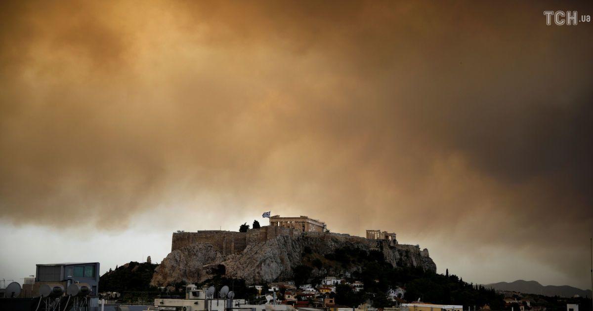 Лісові пожежі у Греції @ Reuters
