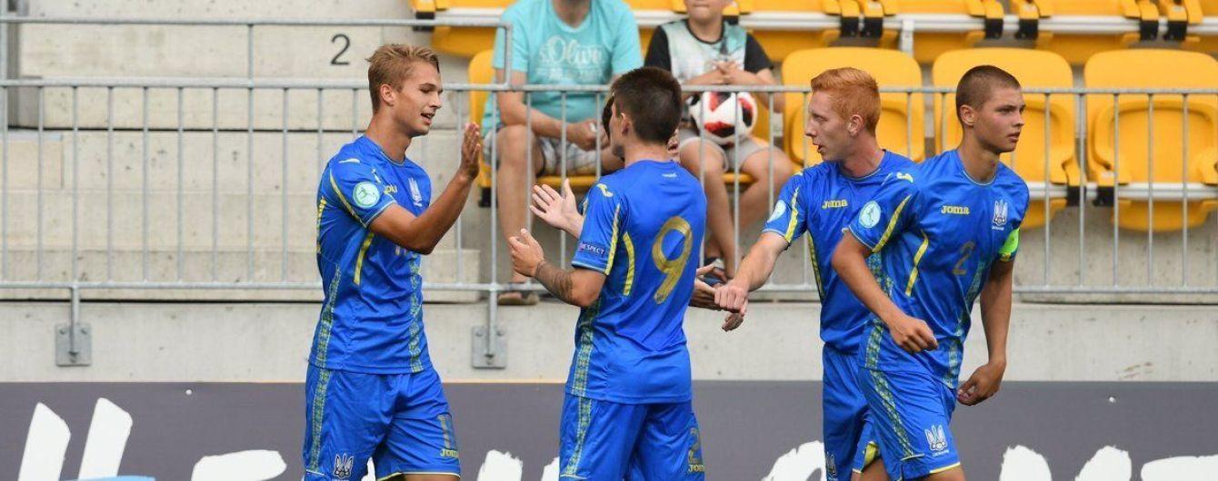 Сборная Украины U-19 с первого места вышла в полуфинал Евро-2018
