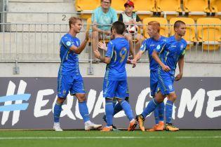 Збірна України U-19 з першого місця вийшла у півфінал Євро-2018