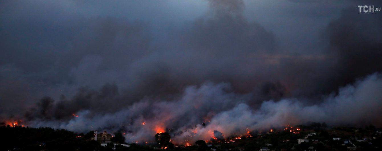 Грецький міністр пішов у відставку після нищівних пожеж в країні