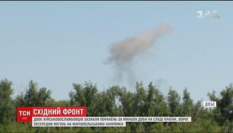 Двоє військовослужбовців зазнали поранень на Сході України