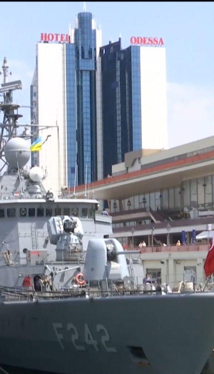 В Одессу зашли сразу шесть кораблей НАТО