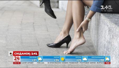 Миром распространяется новый тренд - отказ от каблуков в пользу кроссовок