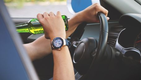 Патрульні щодня затримували понад 300 п'яних водіїв 2018 року