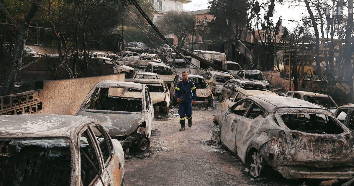 У Греції затримали підозрюваного у вчиненні смертельних пожеж