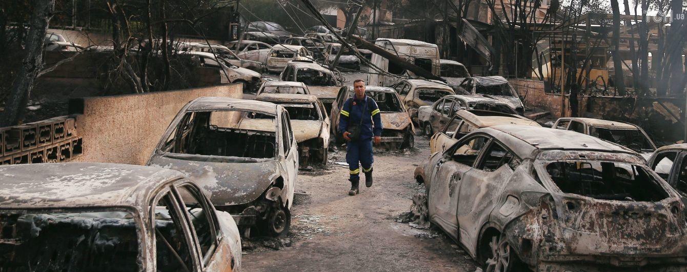 В Греции задержали подозреваемого в совершении смертельных пожаров