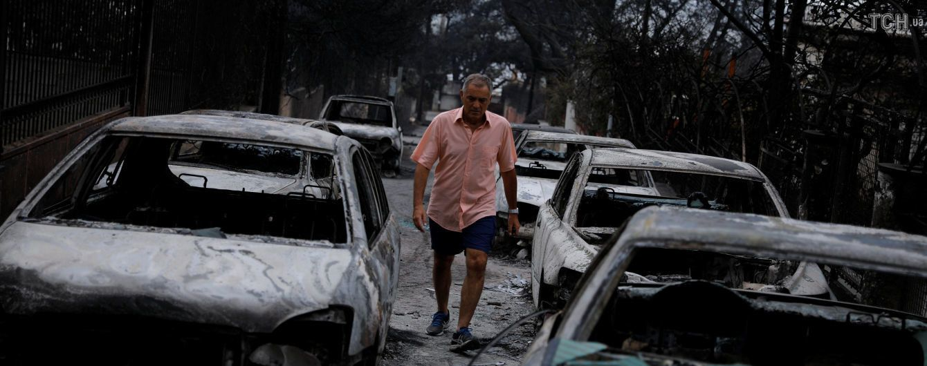 После масштабных пожаров Греция анонсировала снос тысяч незаконных построек
