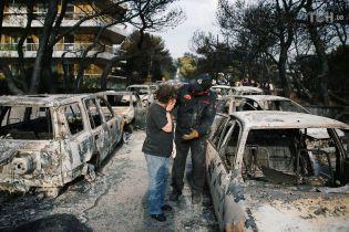 Українці тікають із грецьких курортів через великі лісові пожежі