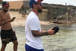 Фанати зіпсували Мессі відпочинок на острові
