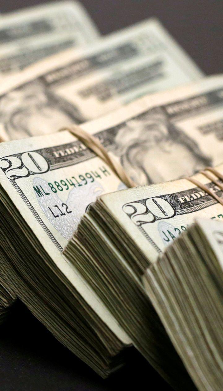Долар і євро трохи здешевшали в курсах Нацбанку на четвер. Інфографіка