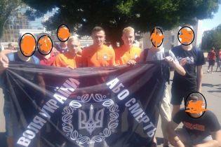 """Футболісти """"Шахтаря"""" зробили фото з банером """"Воля України або смерть"""""""