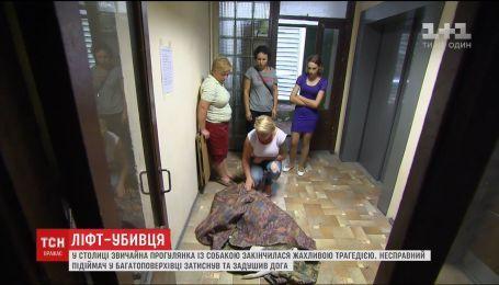 У столиці несправний ліфт задушив собаку