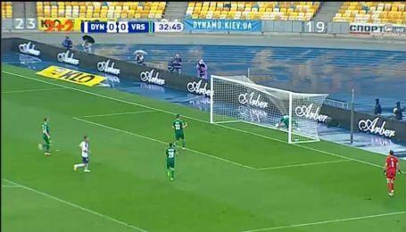 Динамо - Ворскла - 1:0. Видео автогола Ардина Даллку