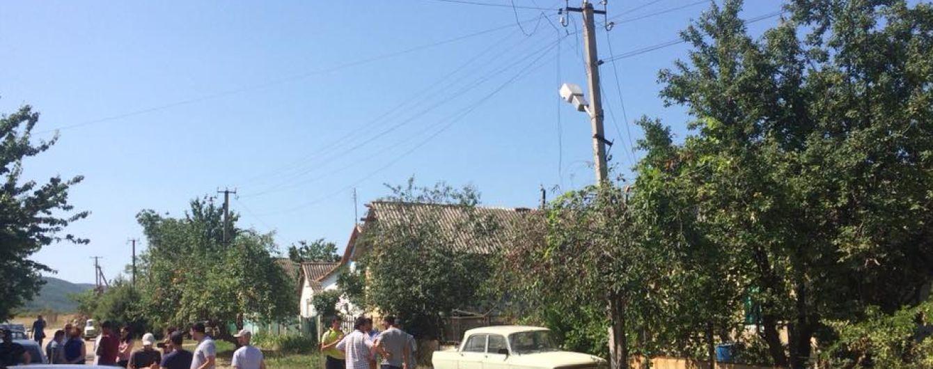 Оккупанты в Крыму обыскивают дома несовершеннолетних, которые сняли российские флаги с сельсовета